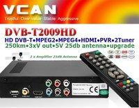 Cheapest Car DVBT receiver:DVB-2009HD