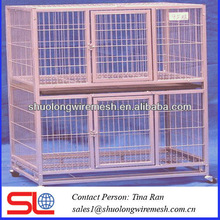 Heavy duty foldaway metal pet cage 91x56x67cm