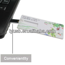 gift business card style usb pen drive 2gb 4gb,white credit card shape pen drive 4gb,usb pen drive card 2gb