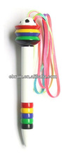 World Cup Football Pen with Colorful Lanyard