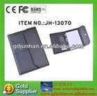 A4 Notebook Briefcase,Business Leather Portfolio Folder