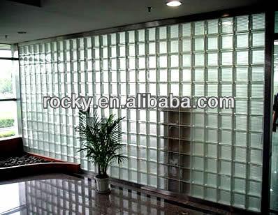Ladrillo de vidrio para interior paredes exteriores - Ladrillos de cristal ...