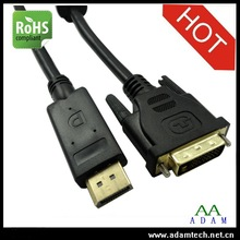 displayport dp to DVI adapter cable female to male