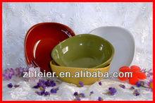 colour glazed ceramic bowl