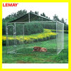10x10x6 foot galvanized chain link large metal dog house