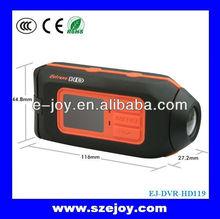 Microphone Mini Action Camera For Ski Helmet Cover 1080P Waterproof&EJ-DVRHD119B