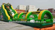 2013 new giant inflatable wet slide