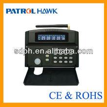 Simple setup & SMS+Auto dail GSM wireless home alarm system via GSM quad band network with CE & FCC