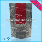 Stand up ziplock bags for tea/vivid printing tea package