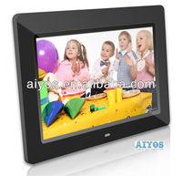 10inch digital photo frames high resolution remote control