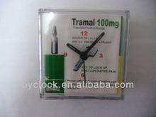 decorative promotional plastic alarm clock