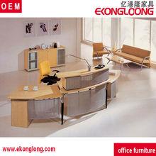 circle reception desk/front counter desk