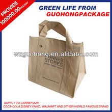 Metal Ring Handled Non-Woven Shopping Bag