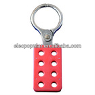 steel safety lockout hasp with 8 holes and 4 holes