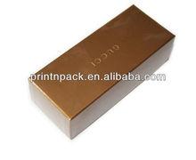 Golden Yellow Fountain Pen Gift Paper Packing Box