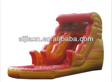fire retardant and waterproof inflatable marble finish used for bouncy castle material