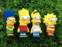 New arrival Novelty pendrive cartoon Simpson family 2gb 4gb 8gb 16gb