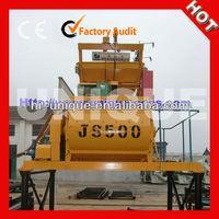 Best Mixing JS500 Electric Portable Concrete Mixer Machine
