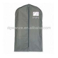 suit cover transparent pvc pocket