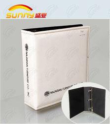 pvc ring binder & paper file folder