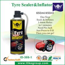 Tyre sealer & inflator(Sellador y inflador para ruedas)