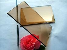 ISO9001&CE Dark Brown sheet Glass