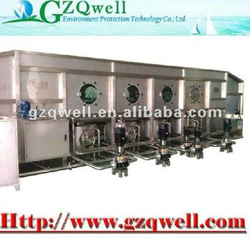 1500BHP barrel washing machine, RO water purifier for water filling machine