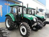 2013 hot 110hp farm tractor in Latvia
