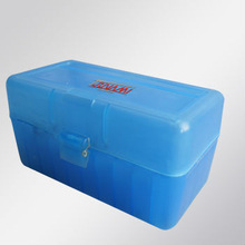 Shock price,Model-908,50 Rounds hard plastic ammo box with ammo hard board for most of Rifle