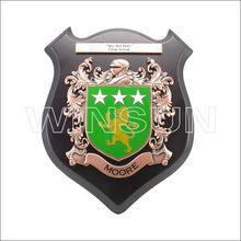 zinc alloy male lion commemorative souvenir plate