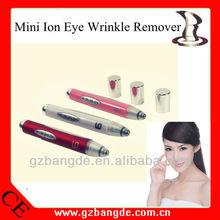 Handheld ion eye wrinkle eraser pen for facial beauty care BD-M001