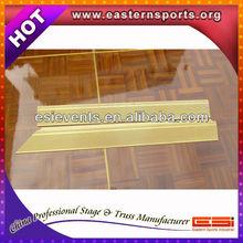 ESI Dance Floor Teak Wood And Solid Teak Wood Flooring With Aluminum Edge 13032902