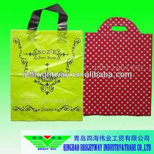 Hotsale Luxury LDPE shopping plastic bag