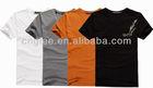 men short fashion T-shirt
