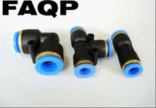 Plastic quick push-in coupling for pneumatic fittings/Pneumatic Fittings Plastic