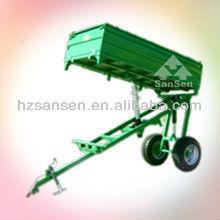 4.0T 3 way tractor trailer/dump trailer/tipping trailer