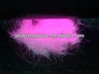 fluorescent security fiber