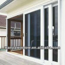Sliding aluminium residential doors