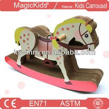 Kiddie rides on horse ,rides on animal