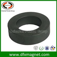 Toroidal core soft ferrite magnet