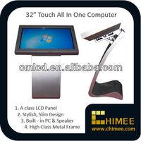 32'' floor standing kiosk built-in best tablet computer
