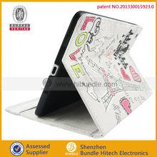 Cartoon leather case for ipad mini