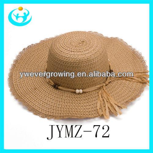 การออกแบบใหม่หมวกร่ม/fanchเทศกาลหมวกที่ทำในจีน