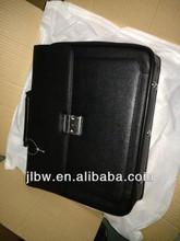 Fashion big leather briefcase laptop bag for businessman