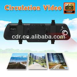 2013 NEW Rear Mirror Car Black Box HDMI