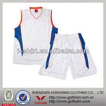 Custom Newest desing men's basketball jersey