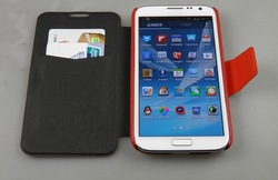 Flip cover for Samsung Galaxy Note2 N7100 wallet leather case