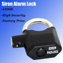 2013 inteligente de alarma candado/candado sirena/alarma de bloqueo