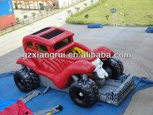 monster truck inflatable slide for kids
