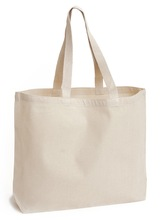 Foldable cotton tote shopping bag, promotion cotton tote bag